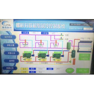 螺杆并联机组PIC控制系统
