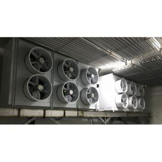 速冻库冷风机及铝排